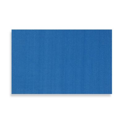 Fun Rugs 2-Foot x 2-Foot 7-Inch Blue Plain Rug
