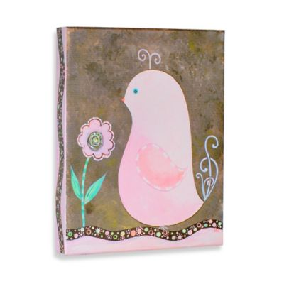 Green Frog Spring is in the Air II Canvas Wall Art