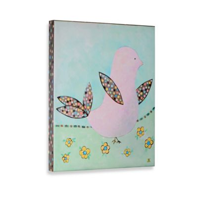 Birds and Bloom II Gallery Wrapped Canvas Wall Art