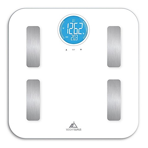 Weight Gurus 174 Wifi Smart Body Composition Scale Bed Bath