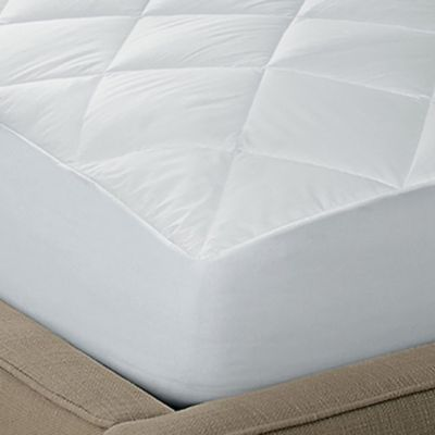 250-Thread Count Waterproof Cotton Twin Mattress Pad