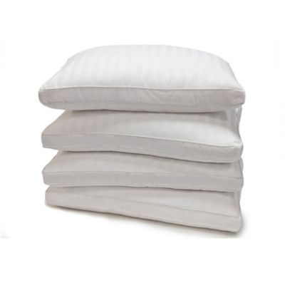 Damask Stripe Standard Down Alternative Pillow (Set of 4)