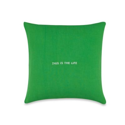 Letter Square Throw Pillow Bedding Accessories