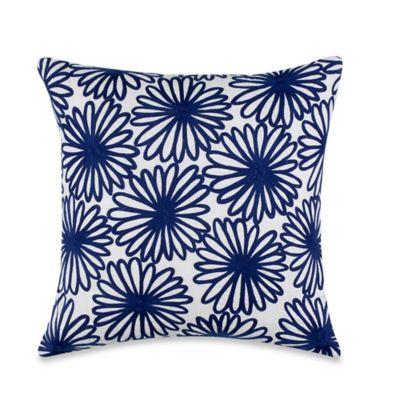 Navy/White Throw Pillows