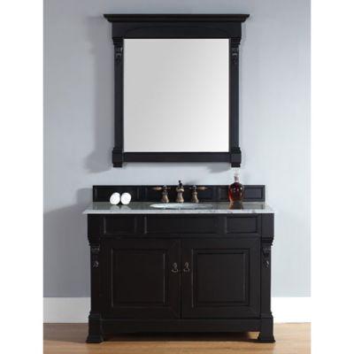 Antique Black Single Bathroom Vanities