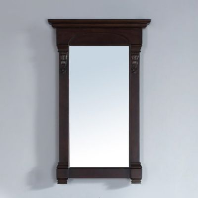 "James Martin Furniture Brookfield 26"" Mirror in Burnished Mahogany"