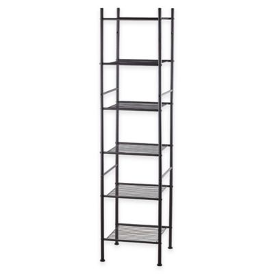 6-Tier Tower Rack Bath Shelf in Oil Rubbed Bronze