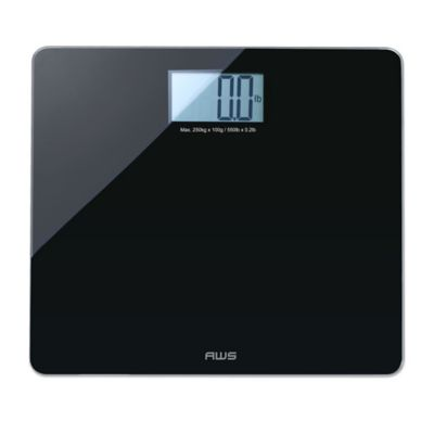 Imperial Digital Extra-Wide Bathroom Scale in Black