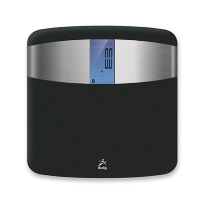 Bodigi Inspire Digital Smart Bathroom Scale in Black