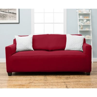 Buy Red Sofa Slipcovers From Bed Bath Amp Beyond