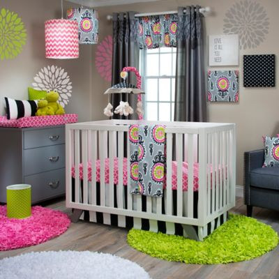 Glenna Jean Pippin 3-Piece Crib Bedding Set
