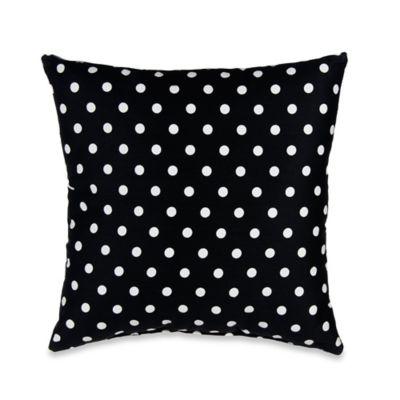 Glenna Jean Black Dot Pillow