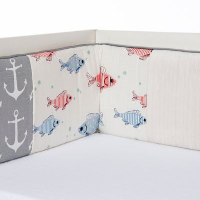 Glenna Jean Fish Tales Crib Bedding Collection
