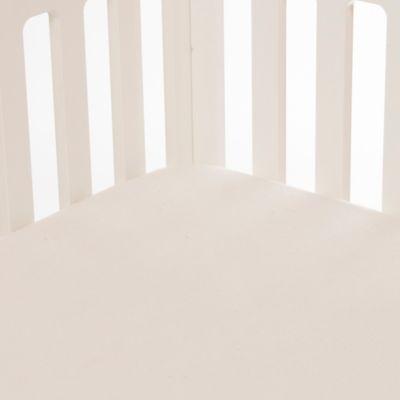 Glenna Jean Traffic Jam Softee Fitted Crib Sheet in Cream