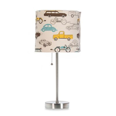 Glenna Jean Traffic Jam Mod Lamp Base with Shade