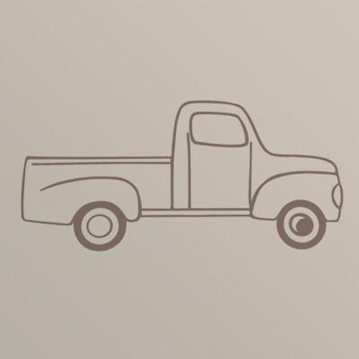 Glenna Jean Traffic Jam Truck Wall Decal
