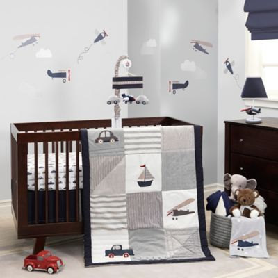 Lambs & Ivy® Evan 3-Piece Crib Bedding Set