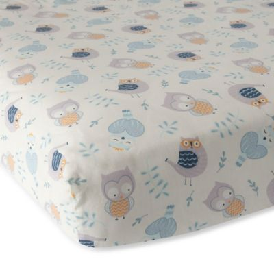 Crib Sheet Sets > Lambs & Ivy® Night Owl Fitted Crib Sheet