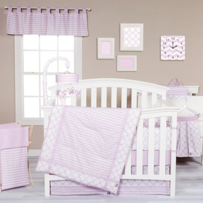 Trend Lab® Orchid Bloom 3-Piece Crib Bedding Set