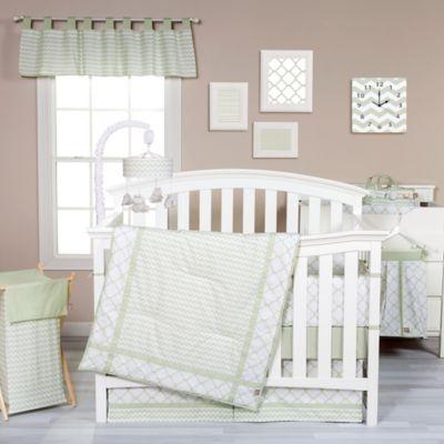 Trend Lab® Sea Foam 3-Piece Crib Bedding Set