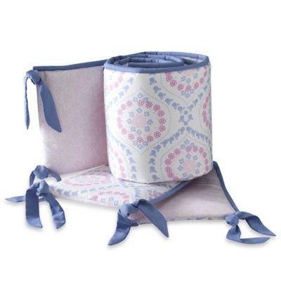 Lambs & Ivy® Mackenzie 4-Piece Crib Bumper