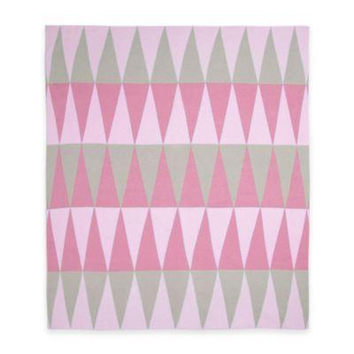 Pink Print Baby Bedding