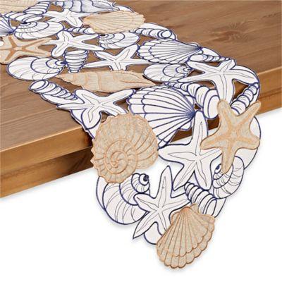 Blue Summer Table Linens