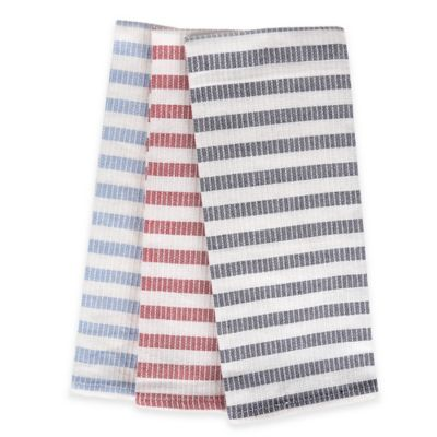 Morning Stripe Kitchen Towels