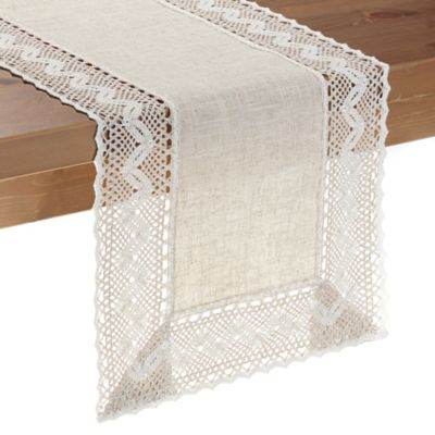 Pebble Lace 54-Inch Table Runner