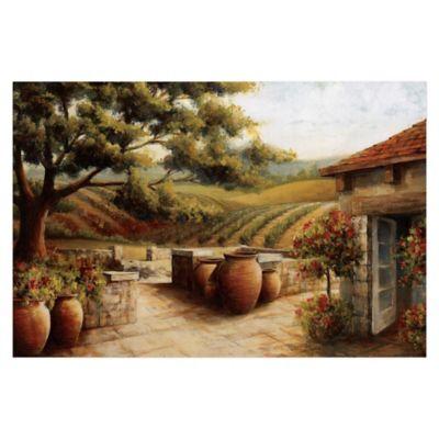 Pied Piper Creative Farmhouse 48-Inch x 32-Inch Canvas Wall Art