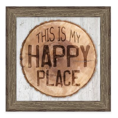 """Art Headquarters """"This is My Happy Place"""" Wall Art"""
