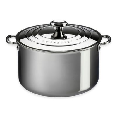 Le Creuset® Tri-Ply Stainless Steel 3 qt. Covered Casserole