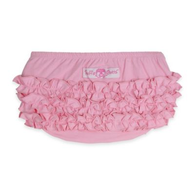 RuffleButts® Size 0-3M Knit Bloomers in Pink
