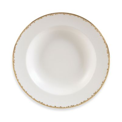 Vera Wang Wedgwood® Gilded Leaf 9-Inch Rim Soup