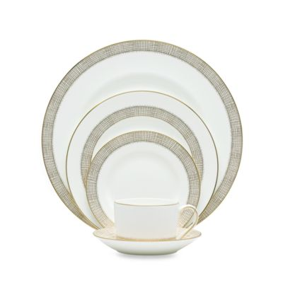 Vera Wang Wedgwood® Gilded Weave 5-Piece Place Setting