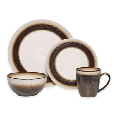 Pfaltzgraff® Eclipse 16-Piece Dinnerware Set in Bronze