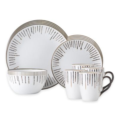 Gourmet Basics by Mikasa® Delancey 16-Piece Dinnerware Set