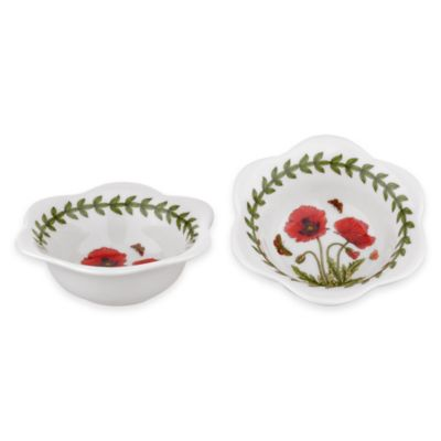 Portmeirion® Botanic Garden Poppy Dip Bowls (Set of 2)