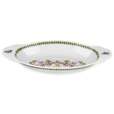 Portmeirion® Botanic Garden Oval Baking Dish with Handles