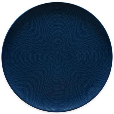 Noritake® Navy on Navy Swirl Round Platter