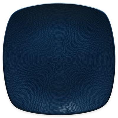 Noritake® Navy on Navy Swirl Square Platter
