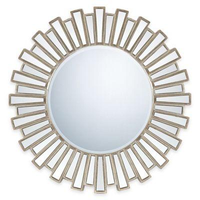 Quoizel 28-Inch x 37.5-Inch Gwyneth Mirror