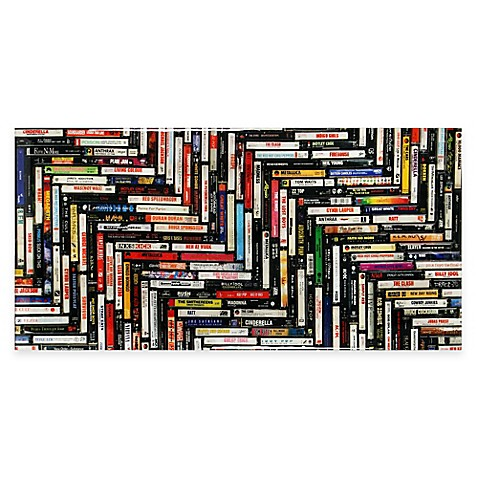 Lacquered Cassette Tape Wall Art Bed Bath Amp Beyond