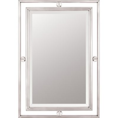 Quoizel 22-Inch x 32-Inch Downtown Mirror