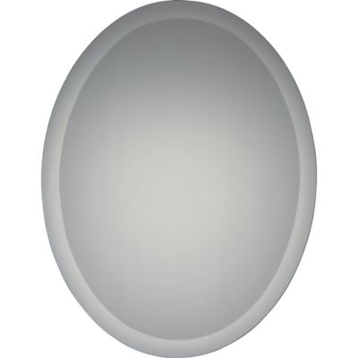 Quoizel Envision 22-Inch x 28-Inch Oval Mirror