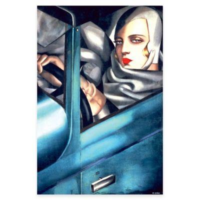 Tamara de Lempicka Self-Portrait Canvas Wall Art