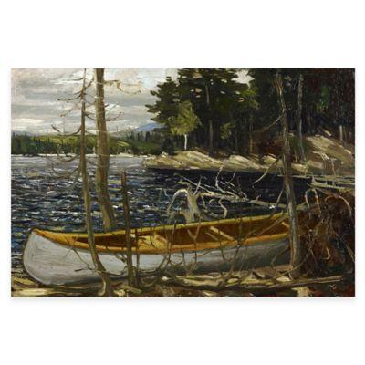 Tom Thomson The Canoe Canvas Wall Art