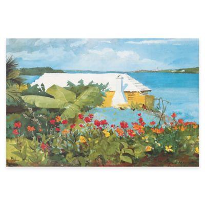 Winslow Homer Flower Garden and Bungalow Wall Art