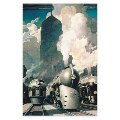 New York Central System Canvas Wall Art
