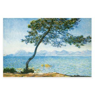 Monet Antibes Canvas Wall Art